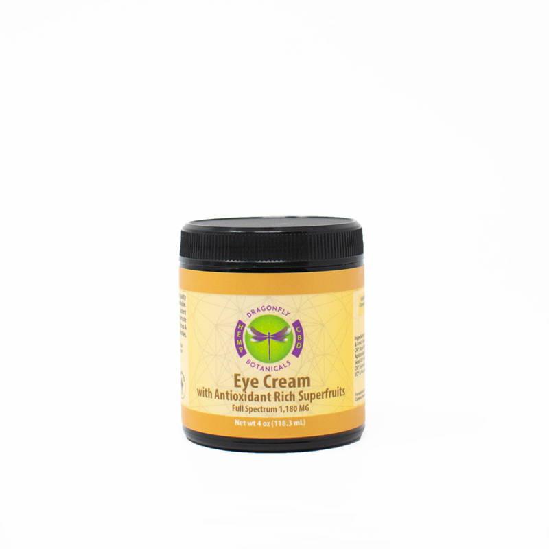 Organic Full Spectrum CBD Eye Cream with Superfruits