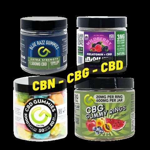 Shop CBD Edibles and CBD Gummies