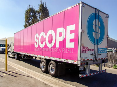 Scope Trailer Wrap