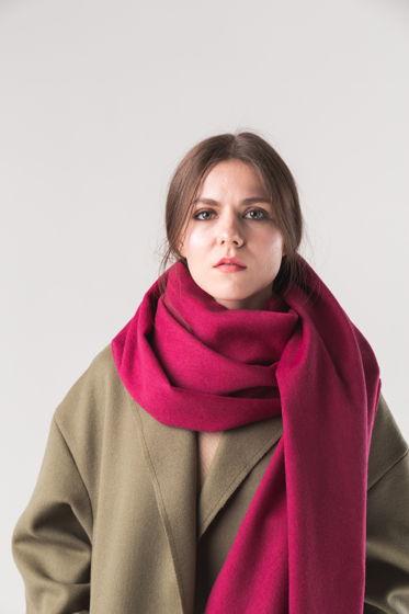 """Шерстяной шарф """"БРИДЖИТ""""  200/70 см"""