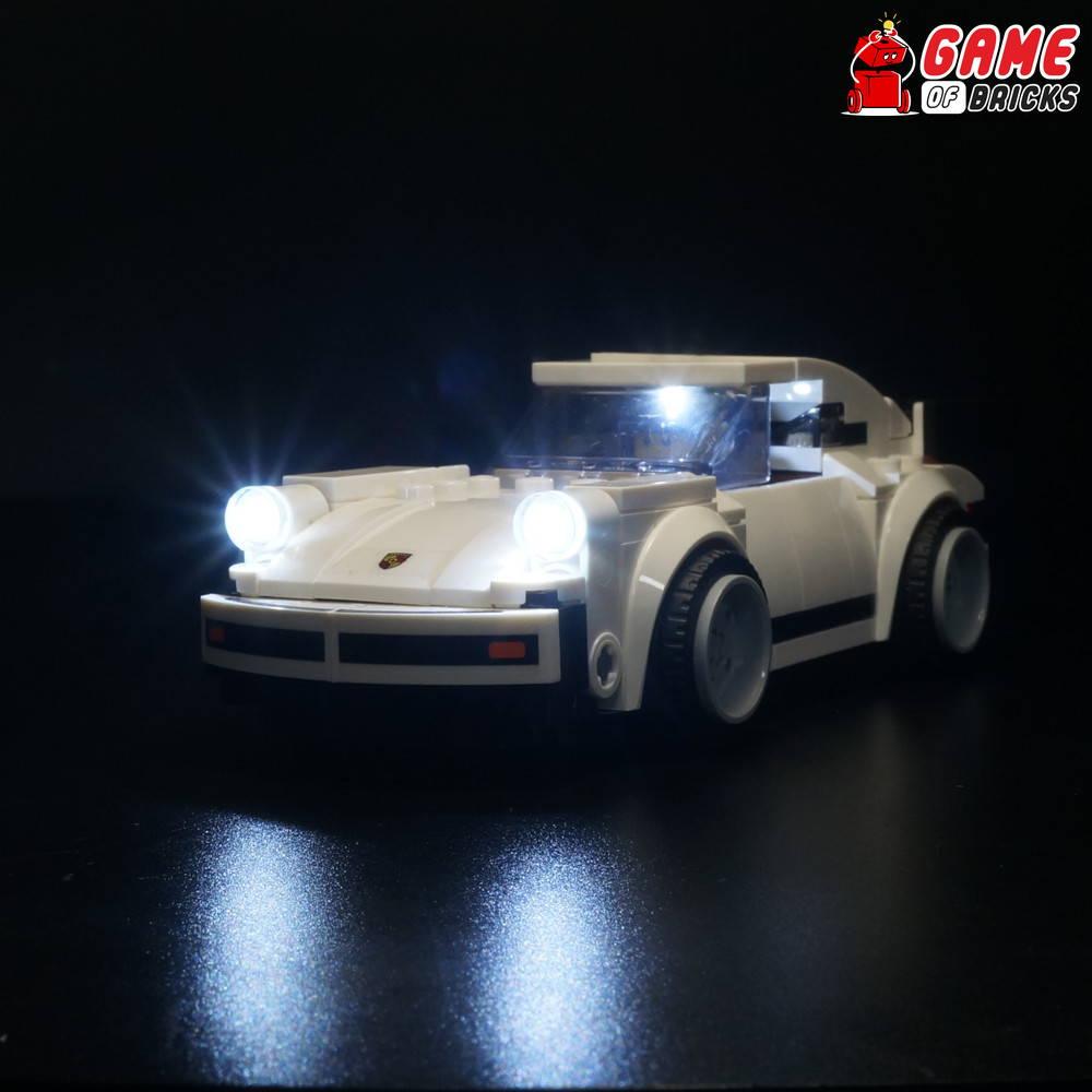 lego night light SPEED CHAMPIONS PORSCHE 75895