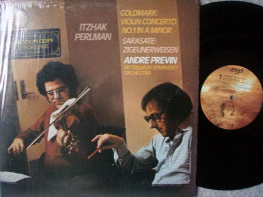 EMI Angel / PERLMAN-PREVIN, - Sarasate Zigeunerweisen,  MINT, Promo Copy!