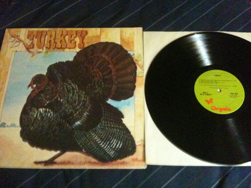 Wild Turkey(Ex-Jethro Tull) - Turkey LP NM Chrysalis Label