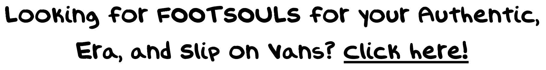 old skool vans insoles