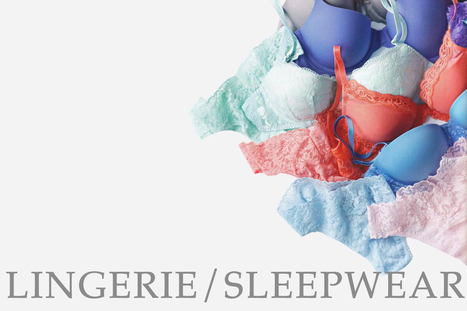 Shop Womens Lingerie / Sleepwear