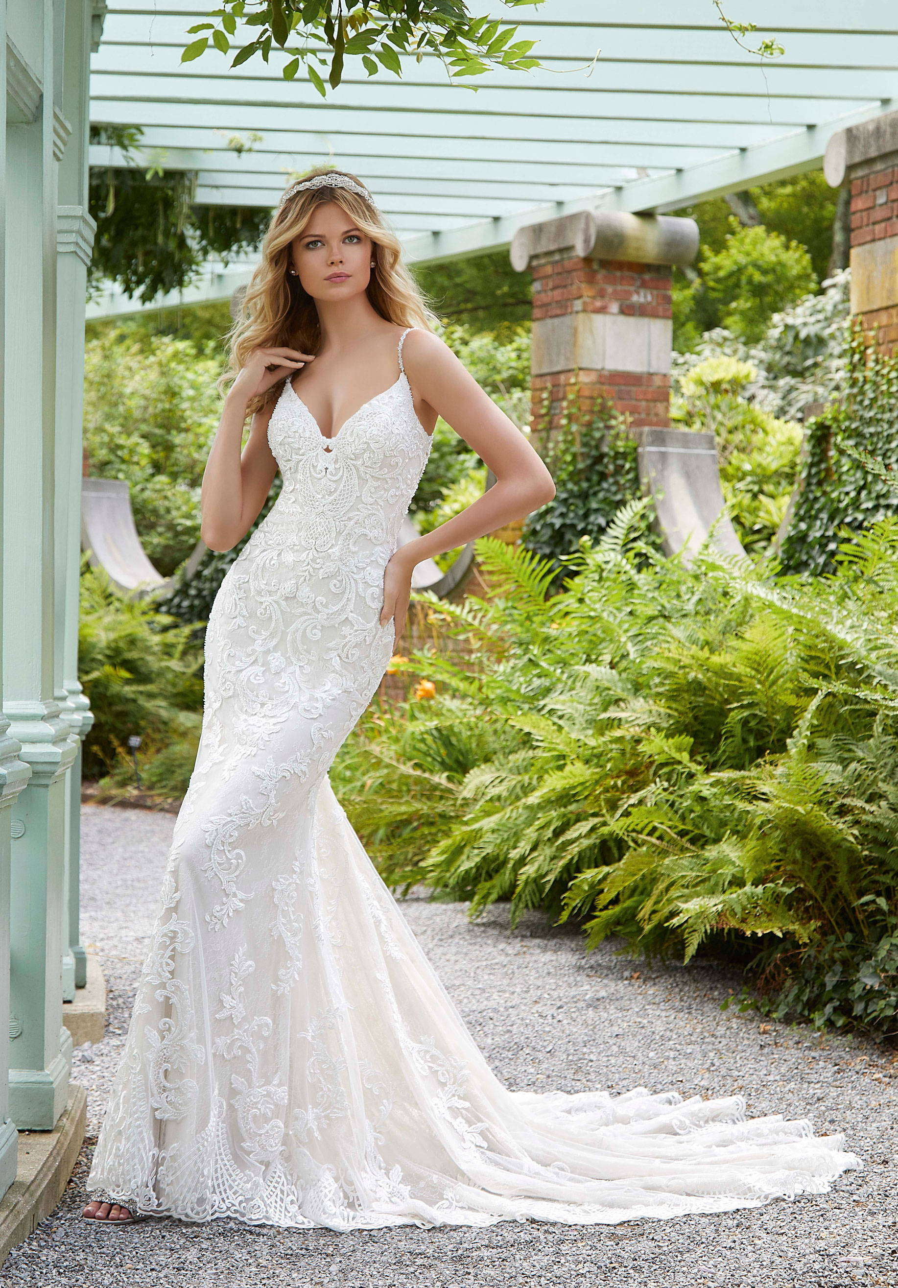 MORI LEE  WEDDING DRESS 2033