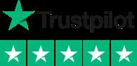 Trustpilot logo - Vinegar Hill have five stars