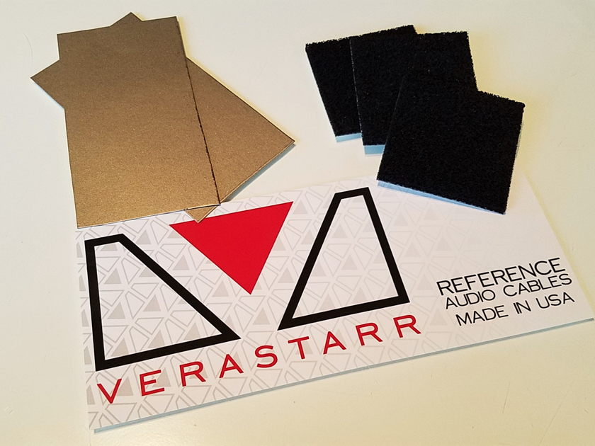 VERASTARR MUSIC SERVER NOISE LOWERING KIT PEEL AND STICK, WE WILL SHOW YOU HOW TO UNLOCK SOUNDSTAGE LOST TO NOISE