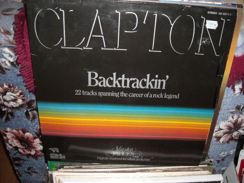 Clapton - Backtrackin RSO 2 LP Set (c)