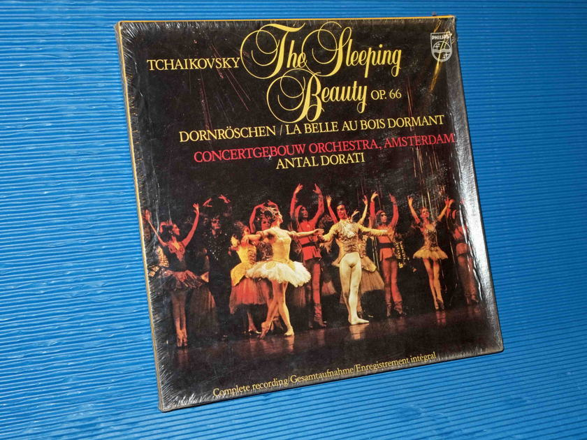 "TCHAIKOVSKY / Dorati  - ""The Sleeping Beauty"" Complete -  Philips 1981 (3 LP ?) Box Set SEALED"