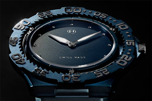 The world's slimmest diver watch NOVE Trident