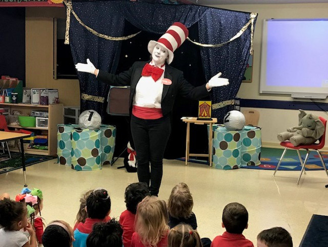 Sister Cat Helps Us Celebrate Dr. Seuss' Birthday Week!