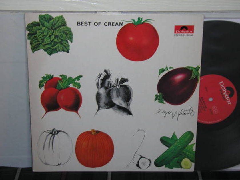 Cream - Best Of Cream (Pics)  German import/Vegetable cover