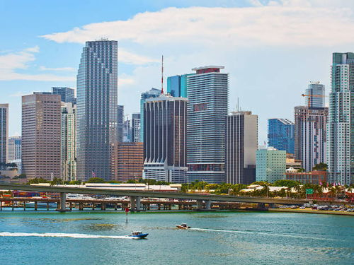 skyview of Downtown Miami