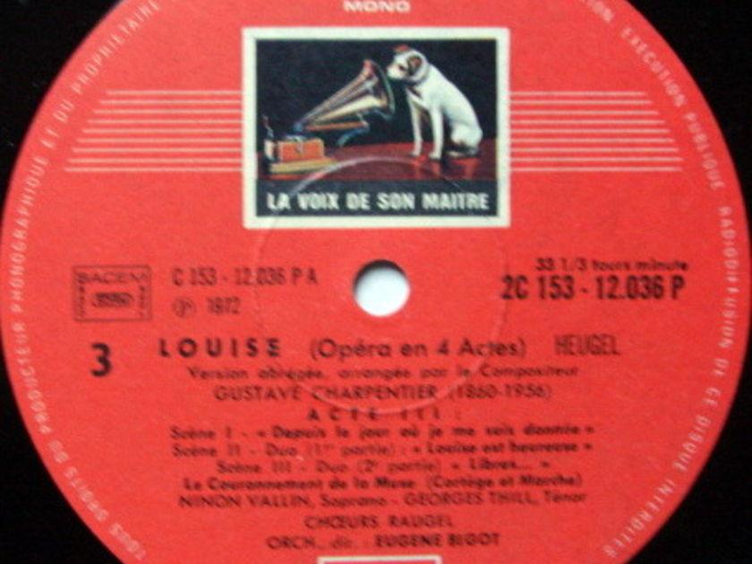 EMI HMV STAMP-DOG/ BIGOT, - Charpentier Louise, NM, 2 LP Set!