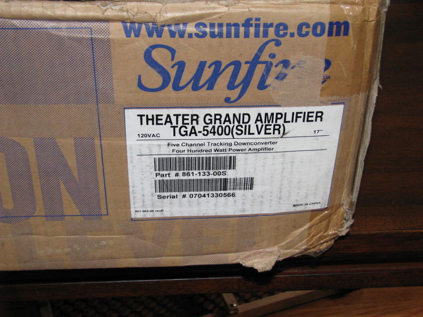 Sunfire TGA 5400 Mint 5 channel amplifier