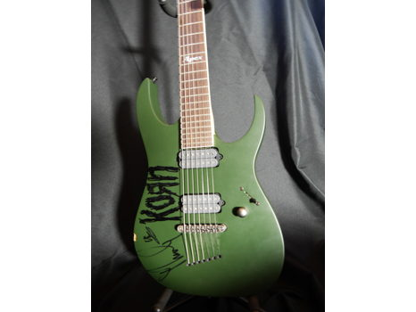 "Signed Apex Guitar by James Shaffer ""Munky"" (KoRn)"
