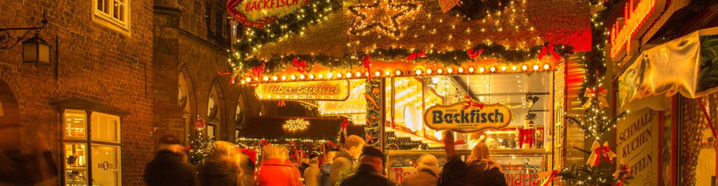 Сказочные рождественские королевства Гослар и Вернигероде