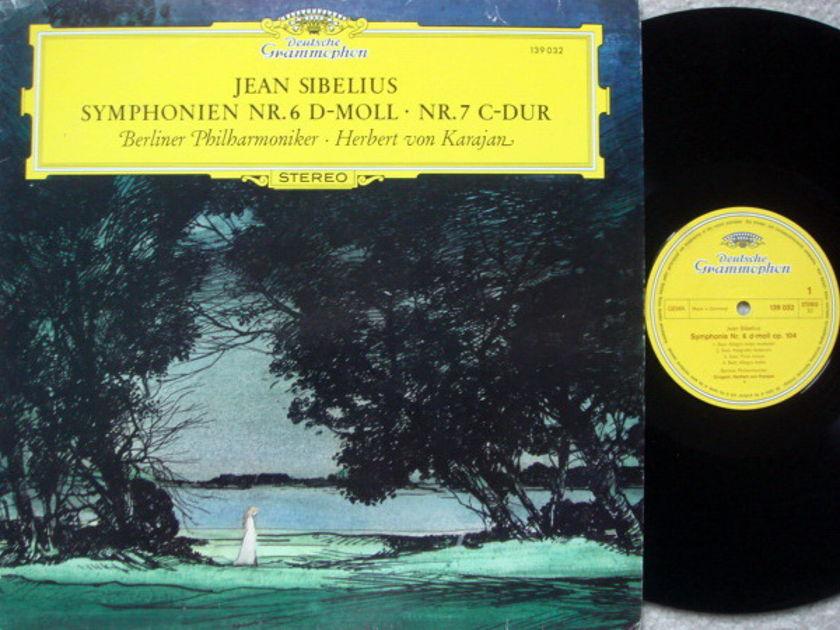DG / KARAJAN-BPO, - Sibelius Symphony No.6 & 7, NM!