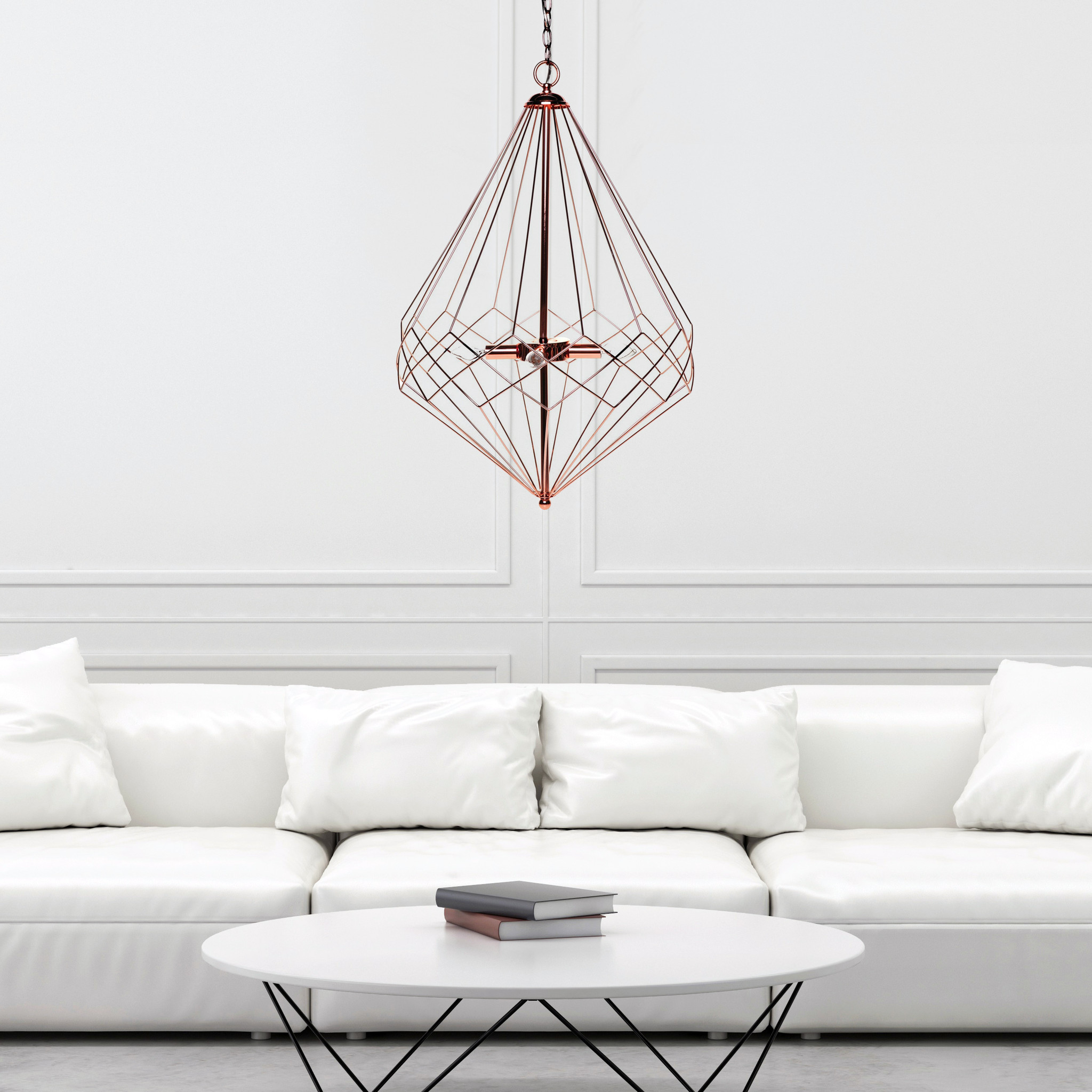 modern geometrical pendant