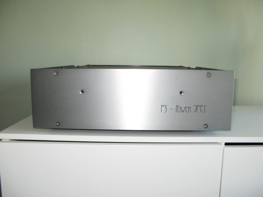 First Watt F3 Practically New, SET Tube Sound