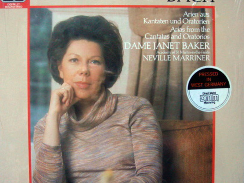 ★Sealed★ EMI Angel Digital /  - JANET BAKER,  Arias from Cantatas & Oratorios!