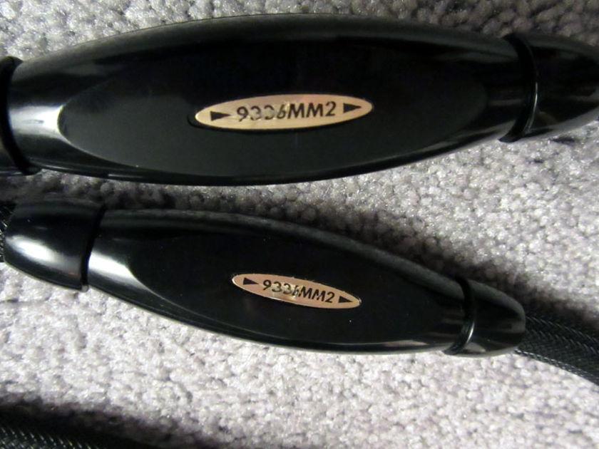 Transparent Audio Transparent Ultra MM2 Tech RCA 1.5 meter GREAT PRICE!