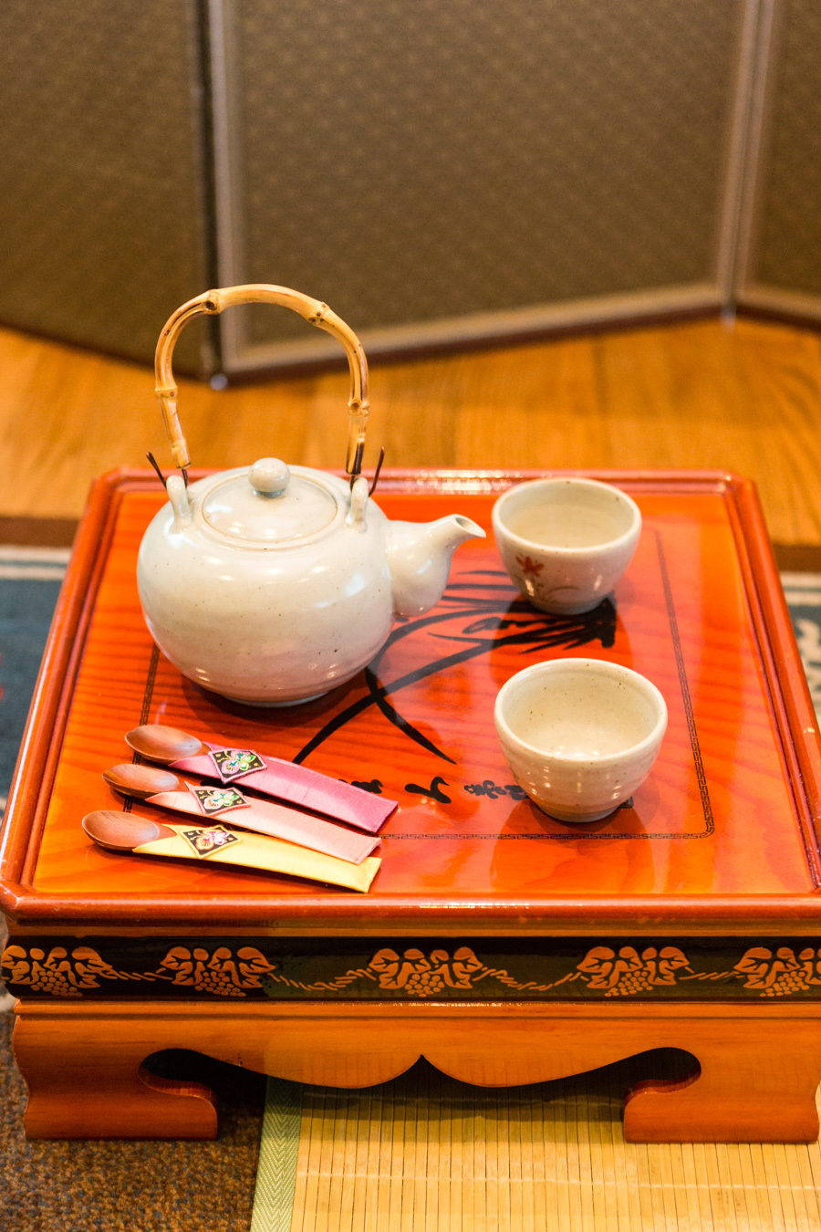 KOREAN TRADITIONAL PAEBAEK TEA CEREMONY TEAPOT SET