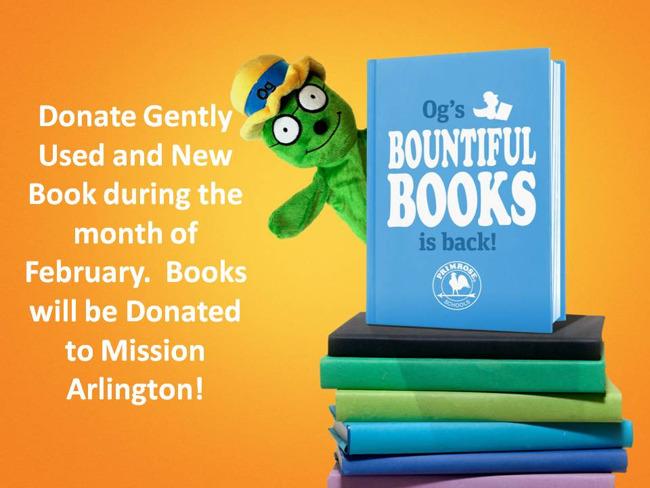 Og's Bountiful Books Starts February 1st