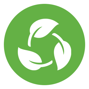 biodegradable icon
