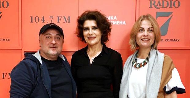 Фанни Ардан на «Радио 7 на семи холмах»: Я всю жизнь любила мужчин и никогда их не боялась - Новости радио OnAir.ru