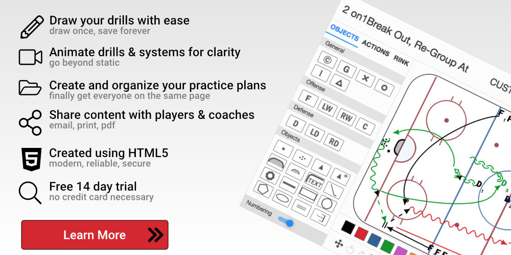 HockeyShare's Advanced Coaching Platform
