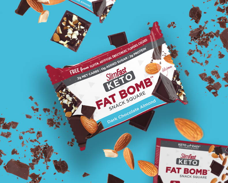 Fat Bomb Snack Square product lifestyle image w