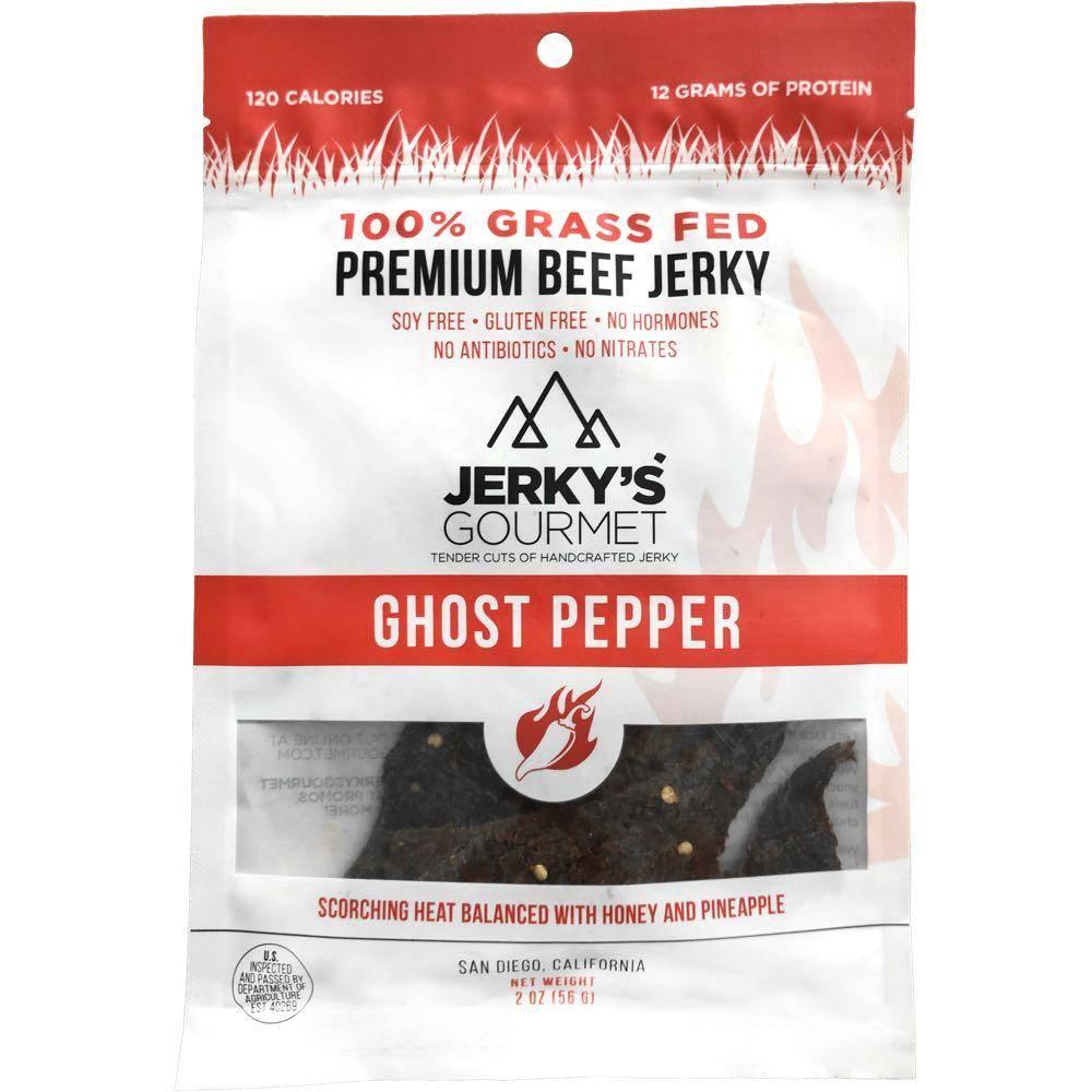 Jerky's Gourmet Ghost Pepper Beef Jerky