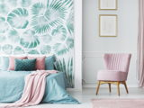 Floral wallpaper for walls: bringing nature inside