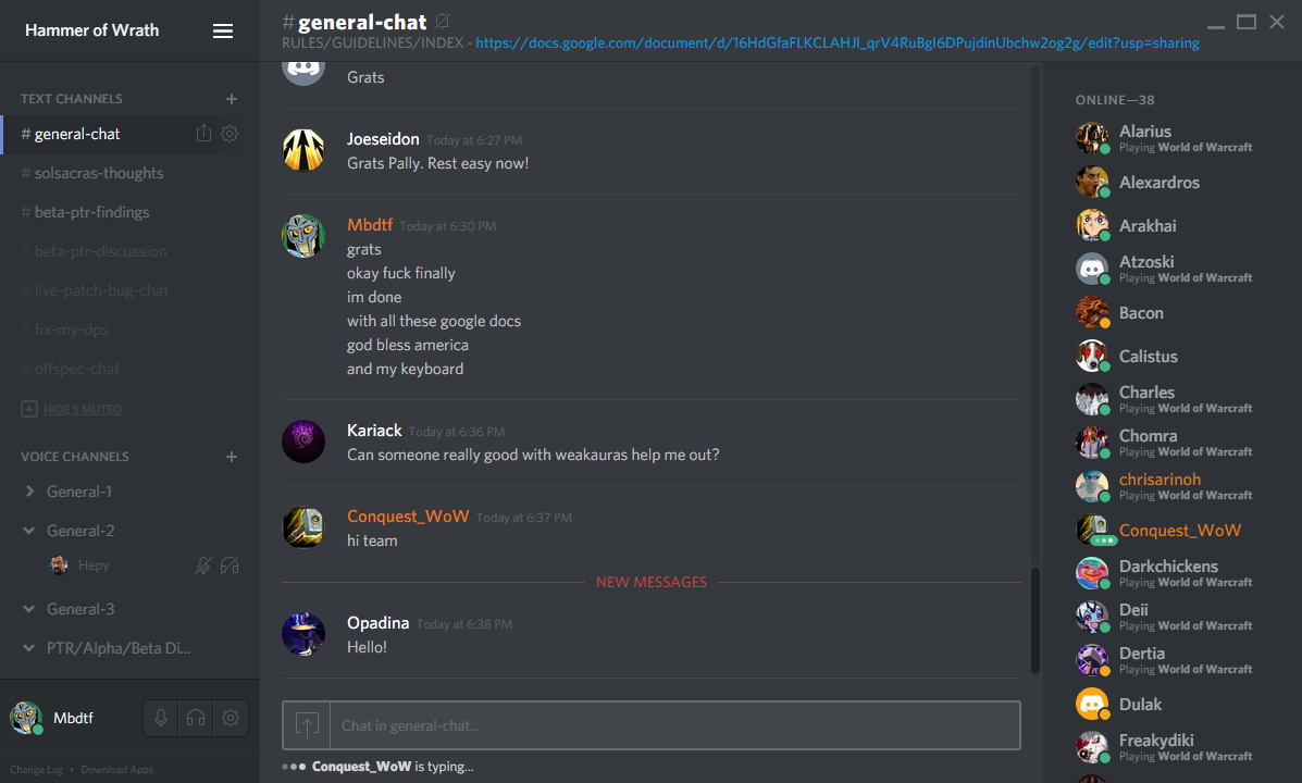 Discord Review Slant