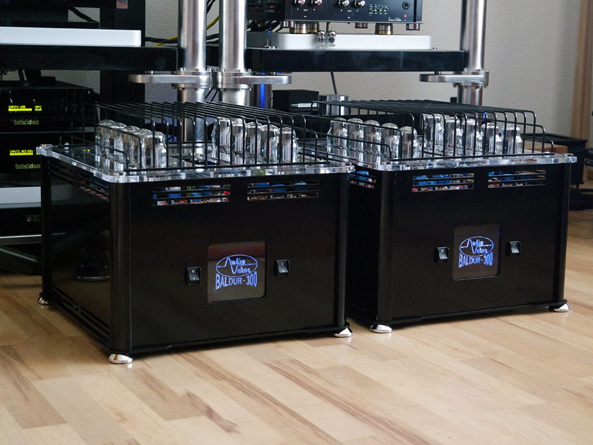 Audio Valve Baldur 300 - 300 Watt Class-A Triode Amp - Made in Germany