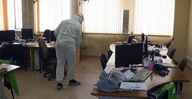 В офисах «Челябинского эха» и «DFM-Челябинск» прошла дезинфекция - Новости радио OnAir.ru