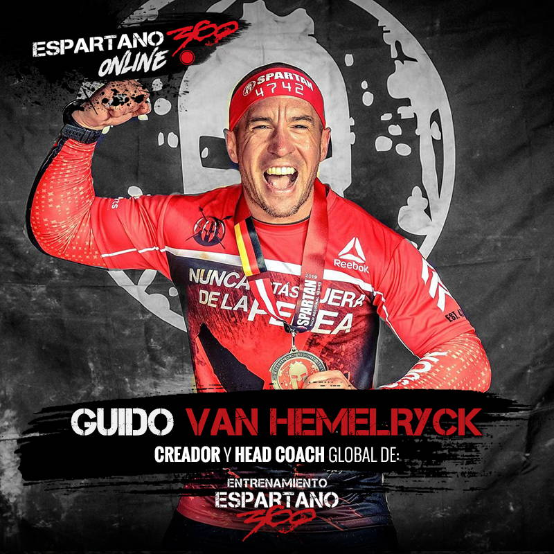Guido Van Hemelryck, Head Coach de Entrenamiento Espartano 360.