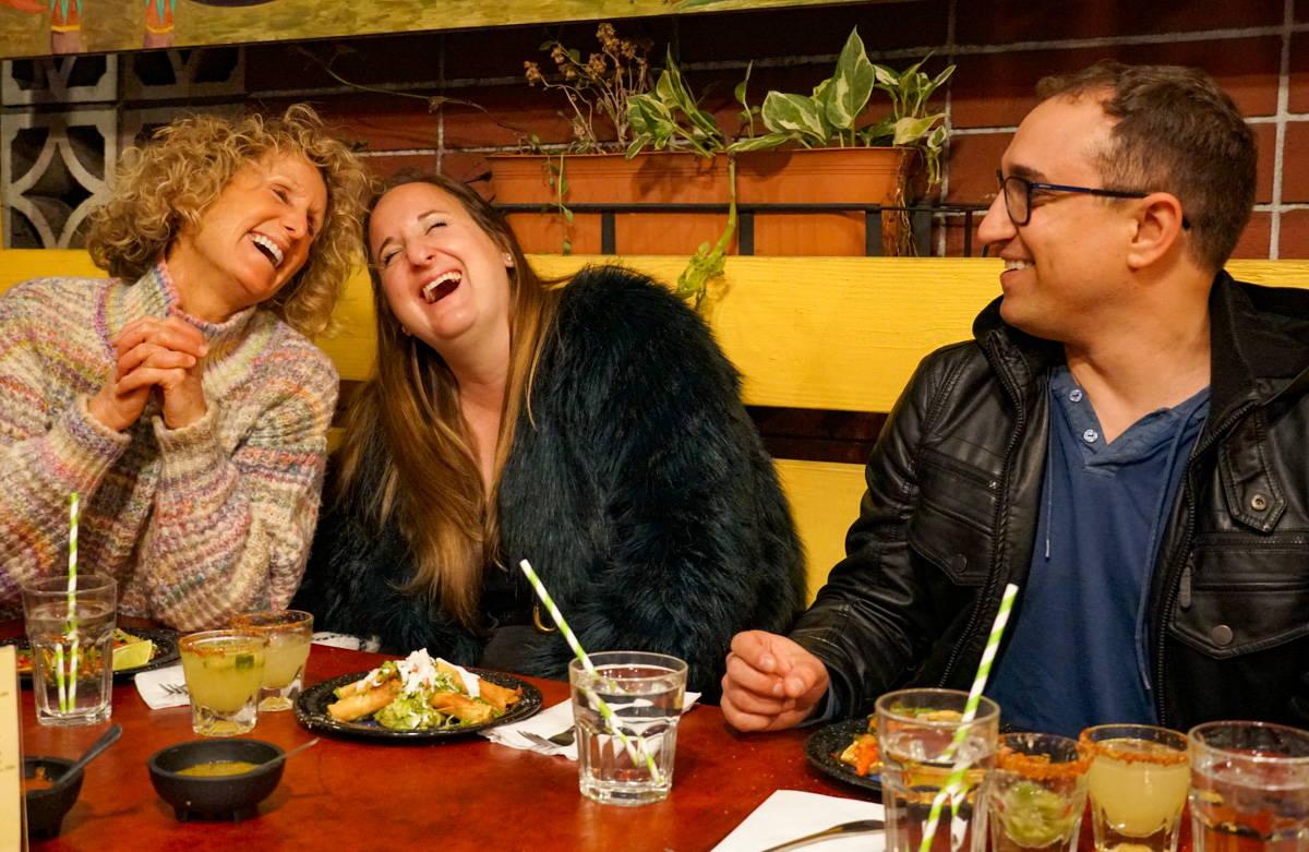 Enjoying a self guided food tour in San Diego. Photo Credit TastePro