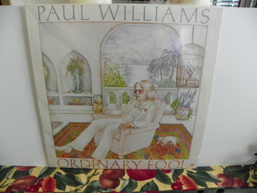 PAUL WILLIAMS - ORDINARY FOOL Pressing is NM