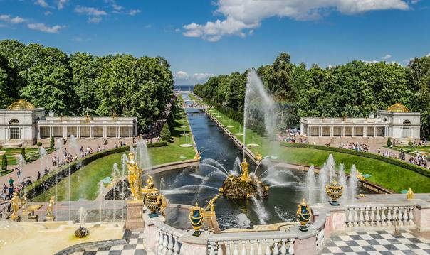 Индивидуальная экскурсия по Нижнему парку Петергофа