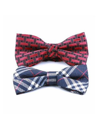 Two bow ties for presentation with style.