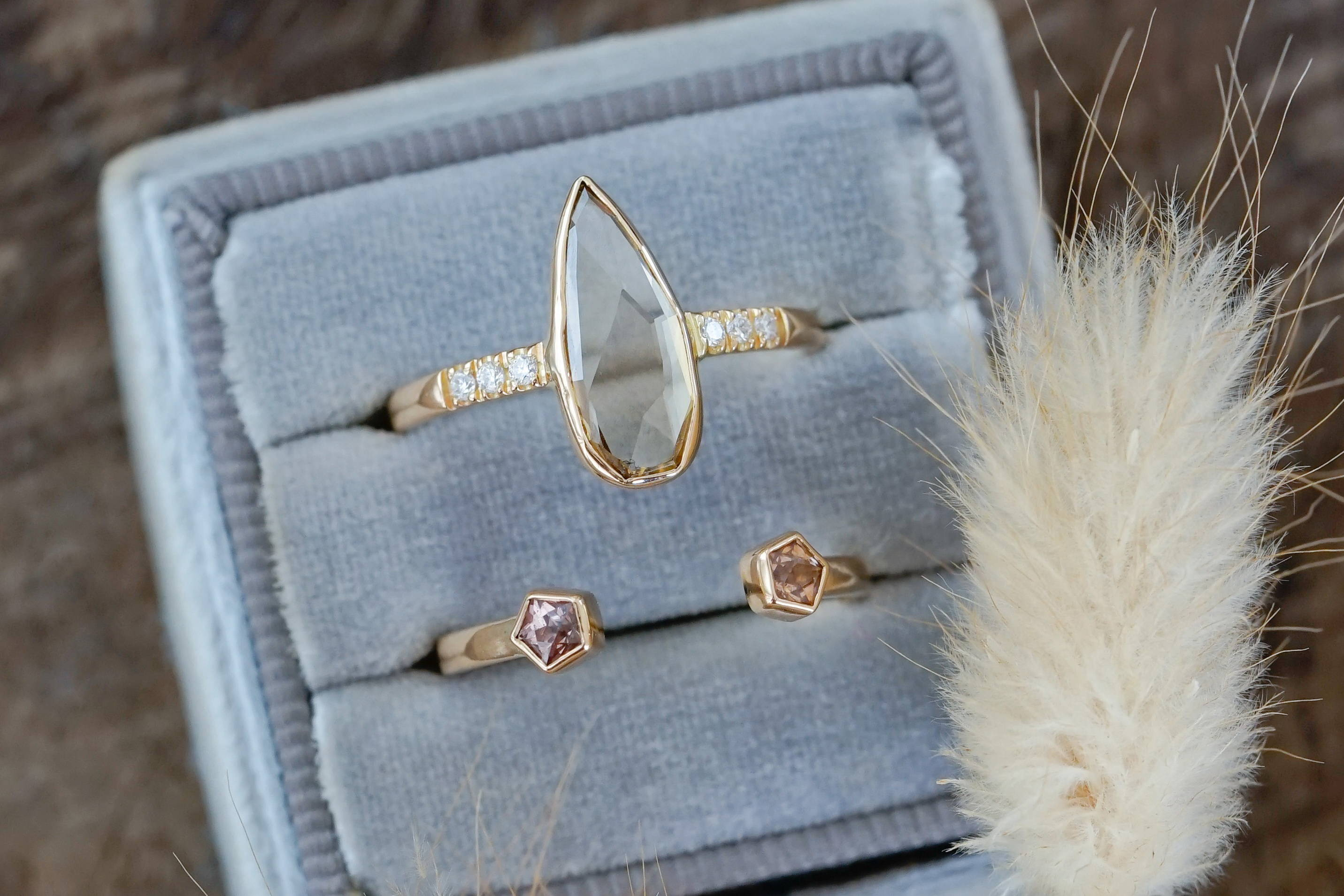 Ethical diamonds make this the ultimate ethical gold ring