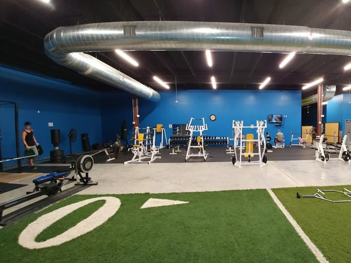 Fitness training space