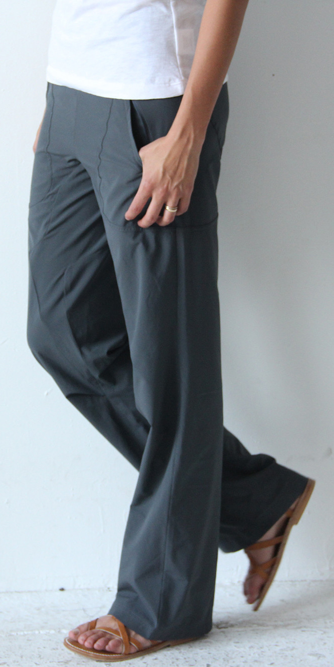 CONSCIOUS – INSANELY COMFY LONG HAUL FLIGHT PANT / WIDE LEG