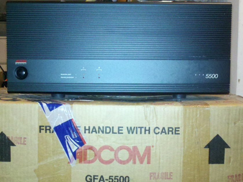 Adcom 2 Channel Amplifier GFA-5500