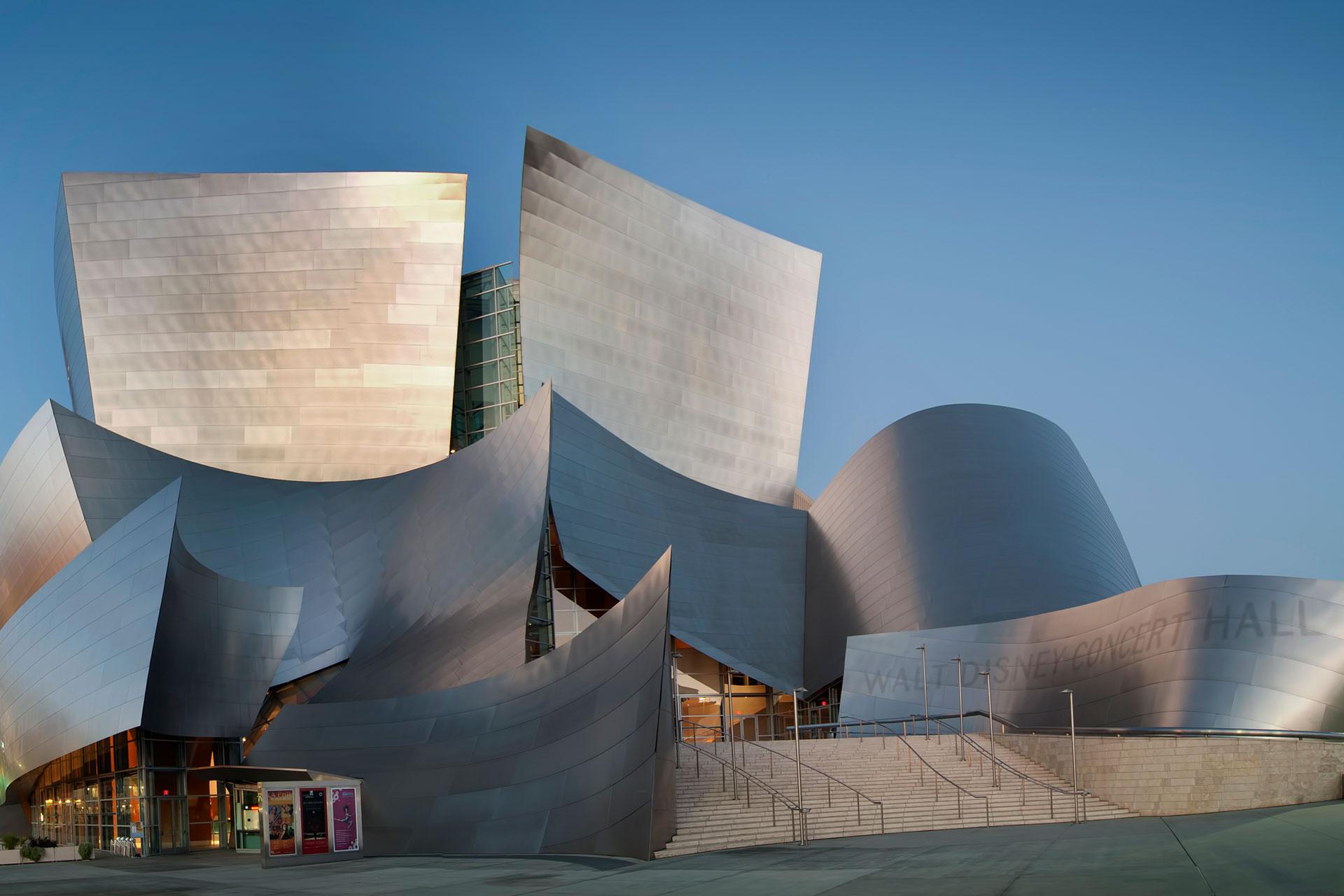 About The Walt Disney Concert Hall La Phil