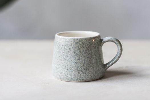 Чашка кофейная Серый крап