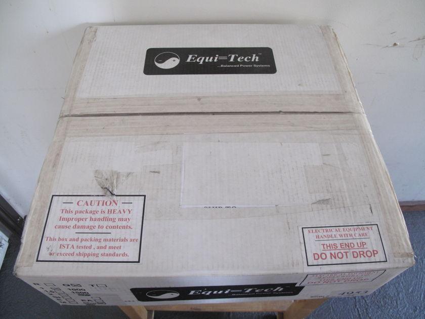 Equitech Q1000 Equi=Tech 1RQ Balanced Power Conditioner 1Q Brand New In Box